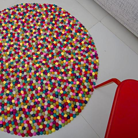 How To Clean Your Felt Ball Rug