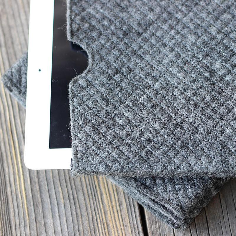 Felt iPad Case Grey