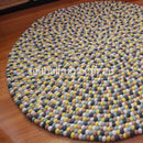 Autumn Felt Ball Rug - Felt Ball Rug USA - 1