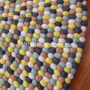 Autumn Felt Ball Rug - Felt Ball Rug USA - 3