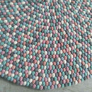 felt ball rug fairy floss