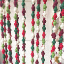 felt ball Christmas garland