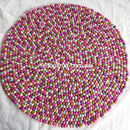 Felt Ball Rug Samples - Felt Ball Rug USA - 14