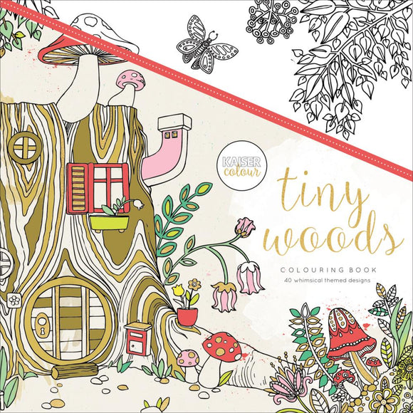 KaiserColour Perfect Bound Coloring Book: Tiny Woods