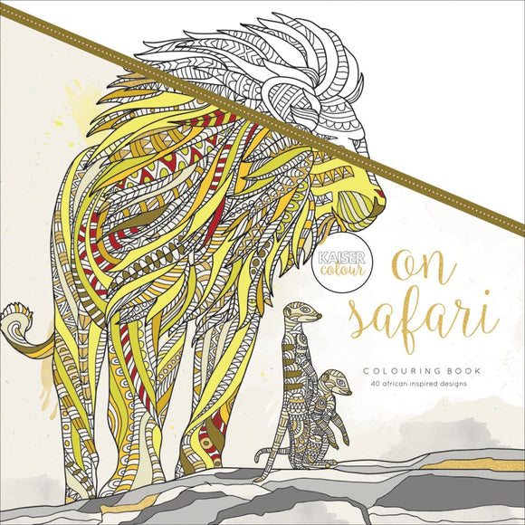 KaiserColour Perfect Bound Coloring Book: On Safari
