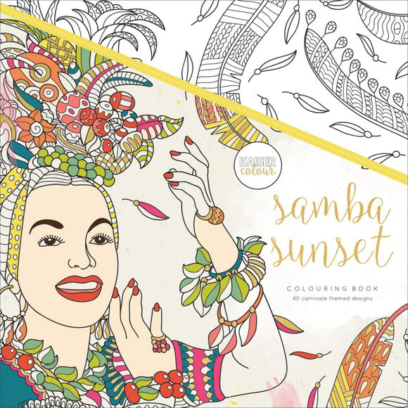 KaiserColour Perfect Bound Coloring Book: Samba Sunset