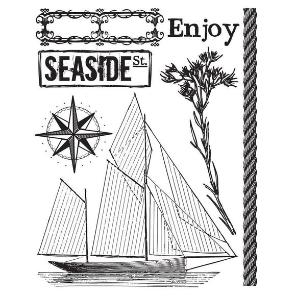 Prima Marketing Clear Stamps: Seashore 1