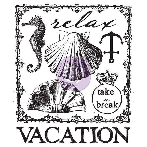 Prima Marketing Clear Stamps: Seashore 2