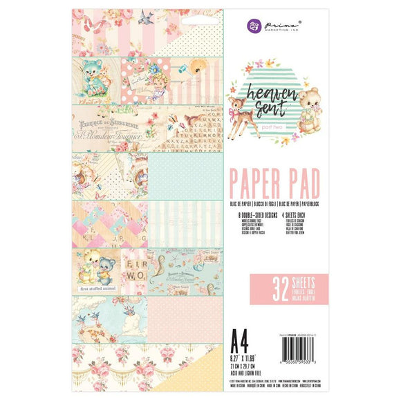 Prima Marketing A4 Paper Pad: Heaven Sent