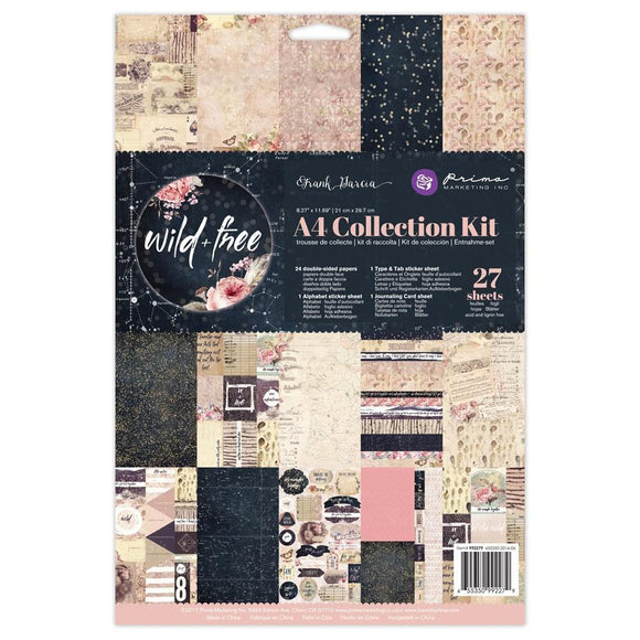 Prima Marketing A4 Collection Kit: Wild & Free