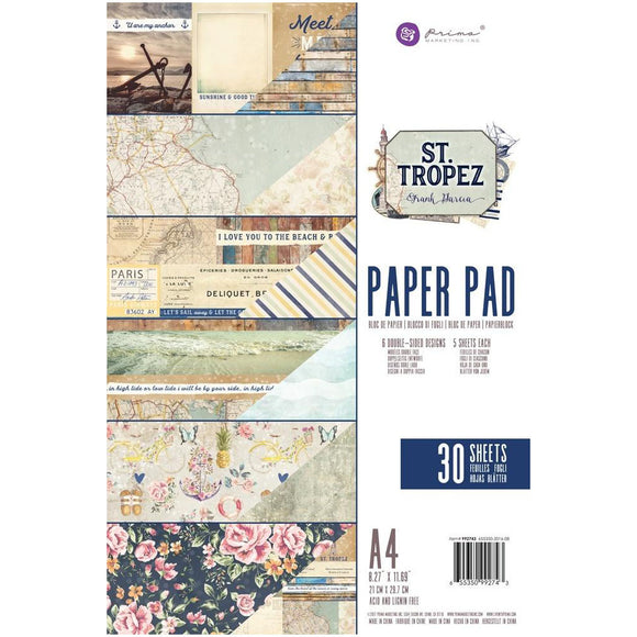 Prima Marketing A4 Paper Pad: St. Tropez