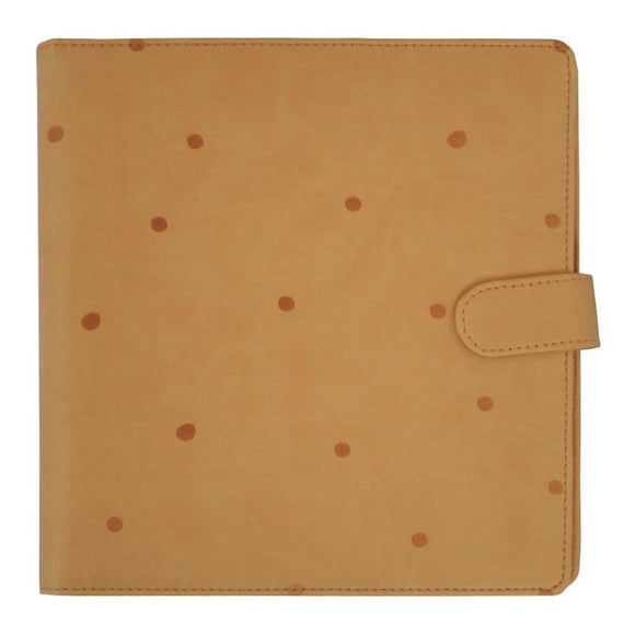Kaisercraft Planner 9x9: Tan with Embossed Spots