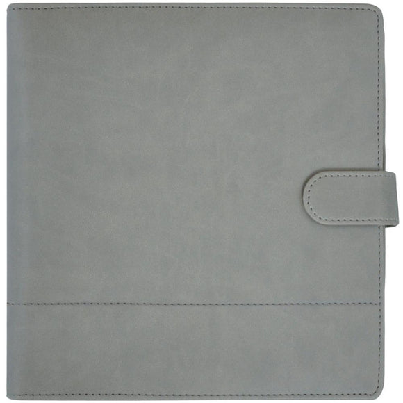 Kaisercraft Planner 9x9: Grey with Stitched Accent