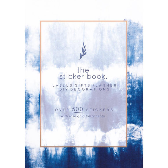 Kaisercraft K Style Sticker Book: Indigo