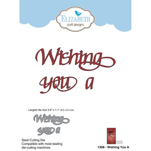 Elizabeth Craft Designs Metal Dies: Wishing You