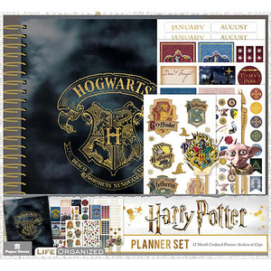 Paper House Harry Potter 12-Month Planner Set
