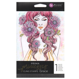Prima Princess Cling Stamps: Grace