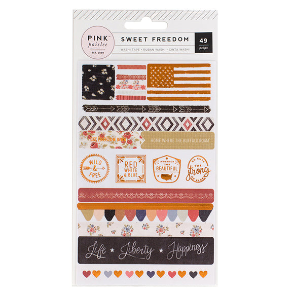 Washi Stickers: Sweet Freedom