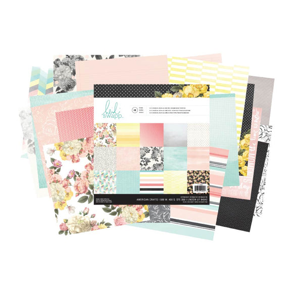 Heidi Swapp 12x12 Paper Pack: Memory Planner (Hello Gorgeous)