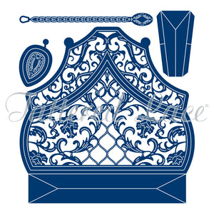 Tattered Lace Dies - Milan Shaped Card