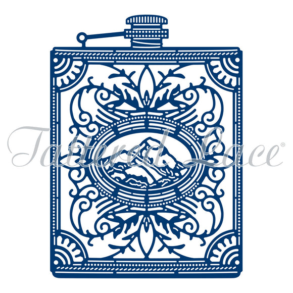 Tattered Lace Dies - Hip Flask