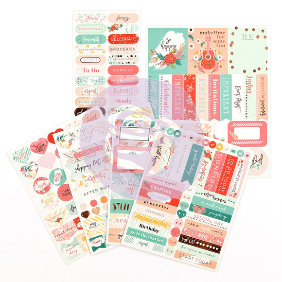 My Prima Planners Stickers Pack: Be Happy
