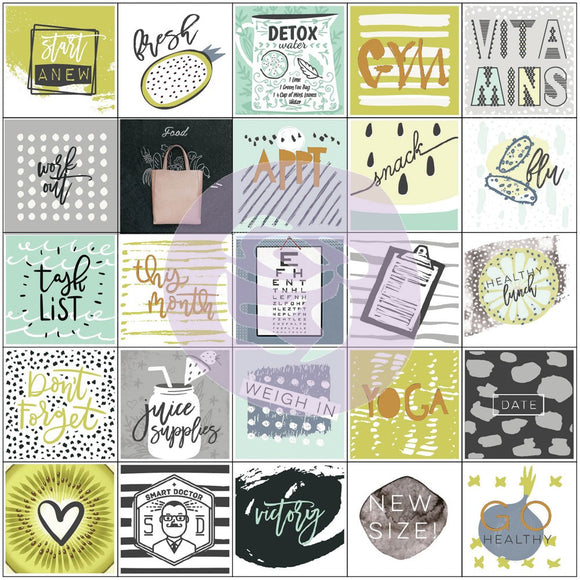 My Prima Planners Stickers: Health Wellness