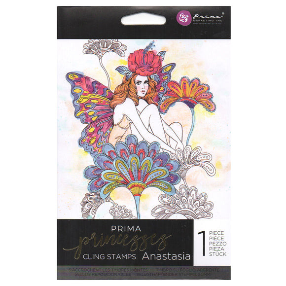 Prima Princess Cling Stamps: Anastasia