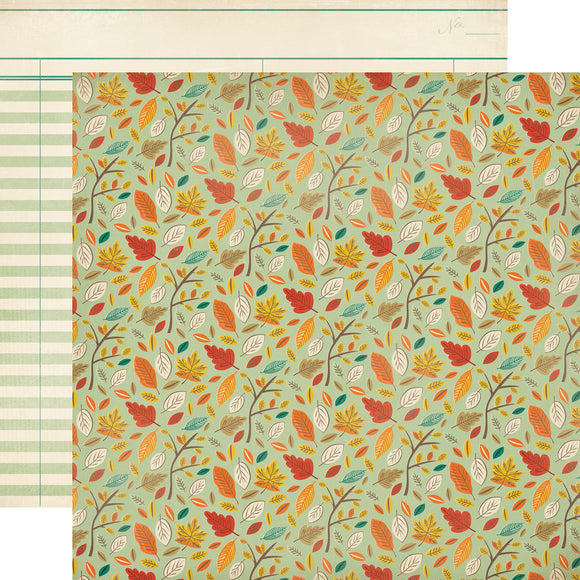 Carta Bella 12x12 Designer Paper: Autumn Day