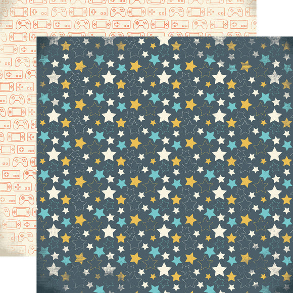 12x12 Designer Paper: All Star Paper