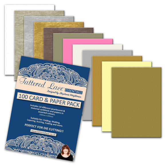 Accessories: A4  Card & Paper Pack (100 Sheets)