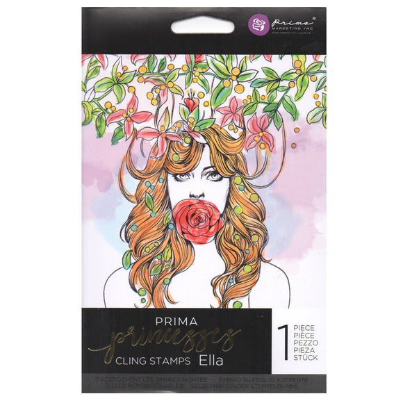 Prima Princess Cling Stamps: Ella