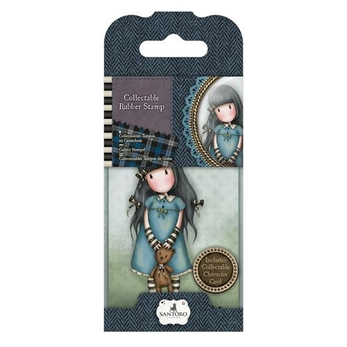Collectable Rubber Stamp No. 04 Forget Me Not