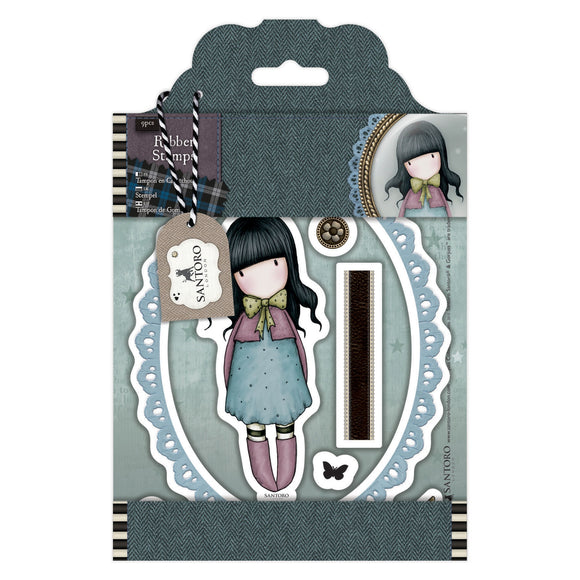 Collectable Rubber Stamps: Waiting
