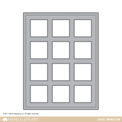 Creative Cuts (Stand Alone): Grid Window