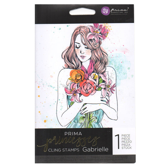 Prima Princess Cling Stamps: Gabrielle
