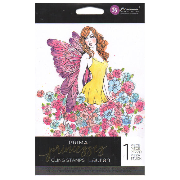 Prima Princess Cling Stamps: Lauren