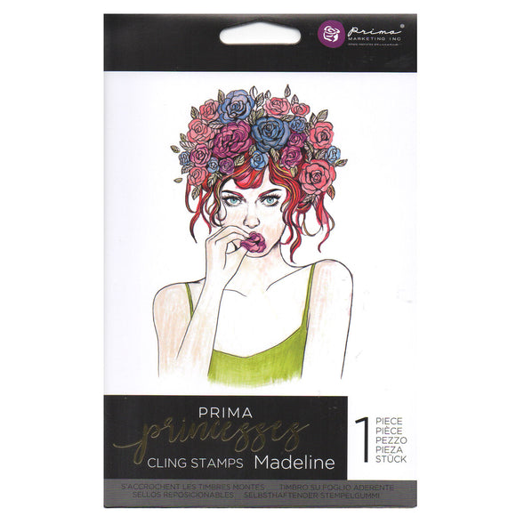 Prima Princess Cling Stamps: Madeline