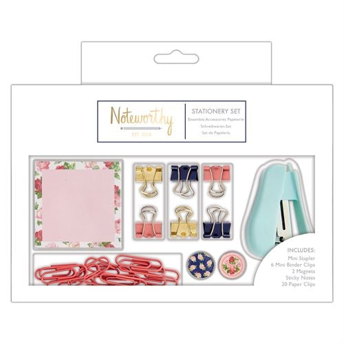 Small Stationery Set - Graphic Florals