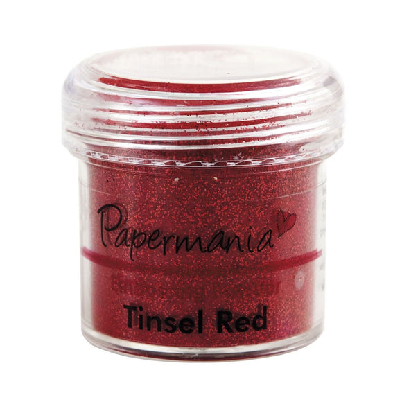 Embossing Powder (1OZ): Tinsel Red