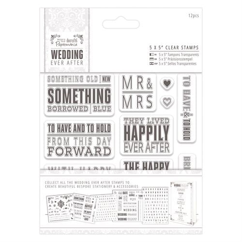 5x5 Clear Stamps: Topper Sentiments