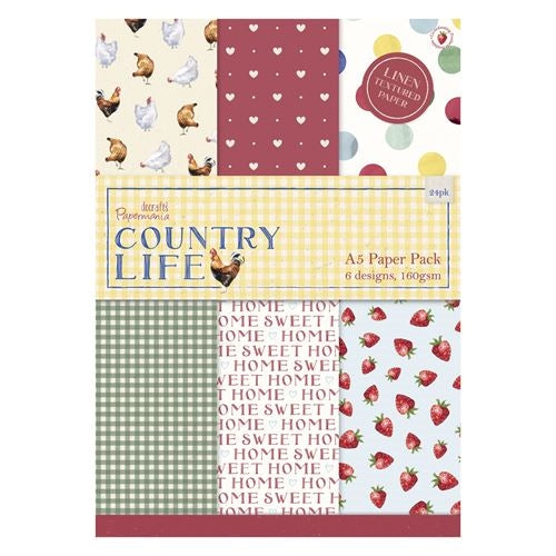 A5 Paper Pack: Country Life