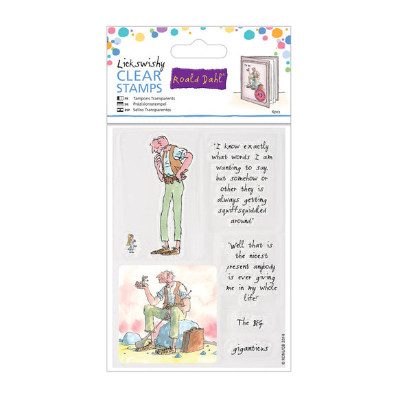 Roald Dahl Clear Stamps: Lickswishy