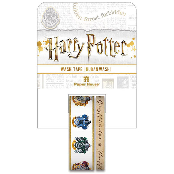 Paper House Harry Potter Washi Tape Rolls: House Crests