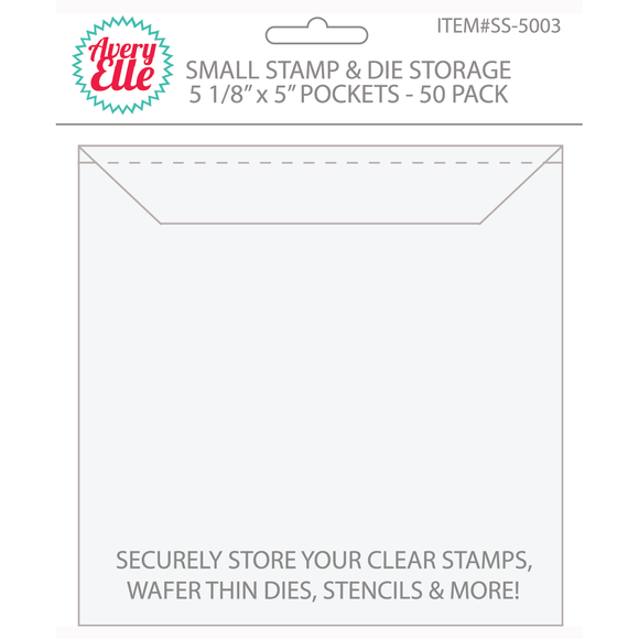 Stamp & Die Storage Pockets (Small)