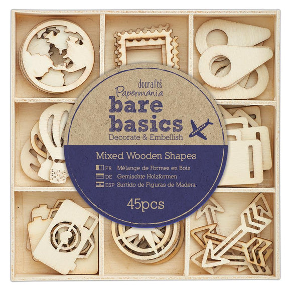 Bare Basics Wooden Shapes - Travelling