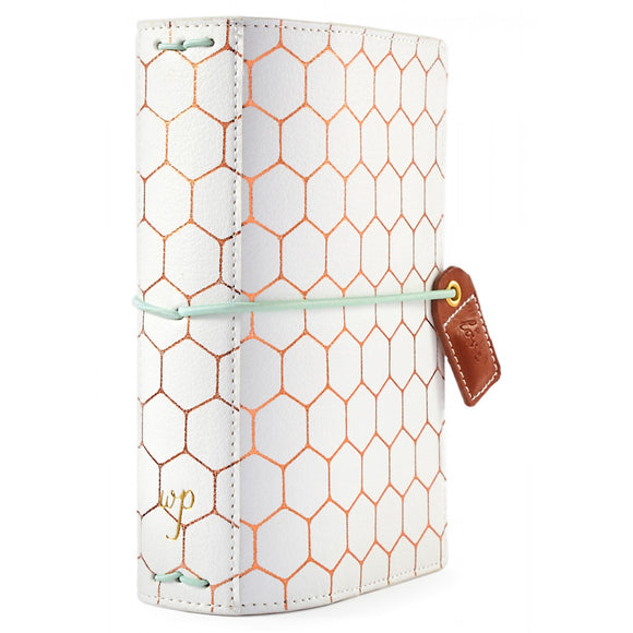 Webster's Pages Pocket Traveler: Copper Hexagon
