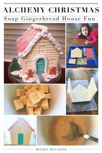 Alchemy's Whimsical Gingerbread Cottage Soap Kit