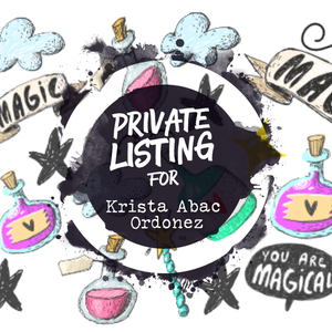 Private Listing for KRISTA ABAC ORDONEZ