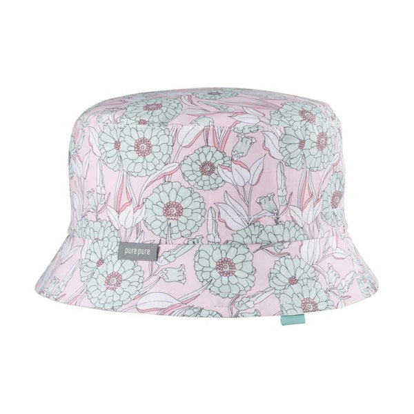 Organic Cotton Bucket Hat - Floral